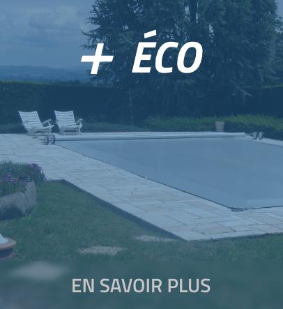 + ECO bâche piscine