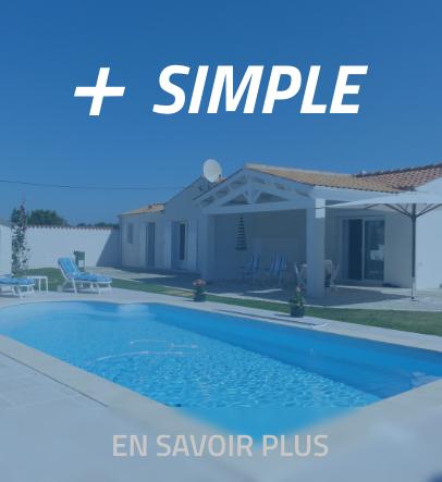 + SIMPLE bâche piscine